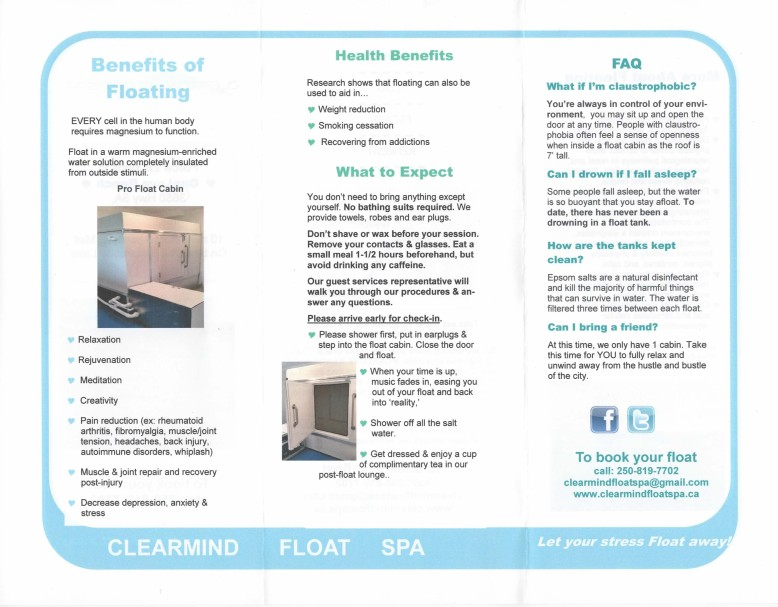 Write Words Writing Services - Brochures