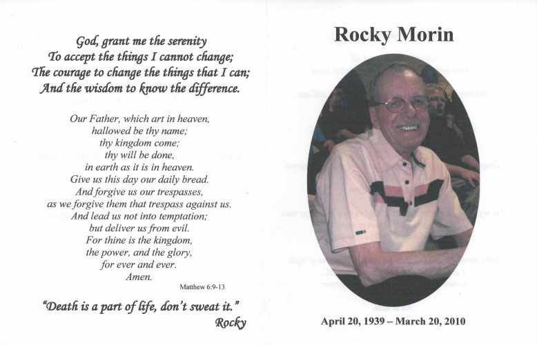Write Words Writing Services - Memorial Brochures