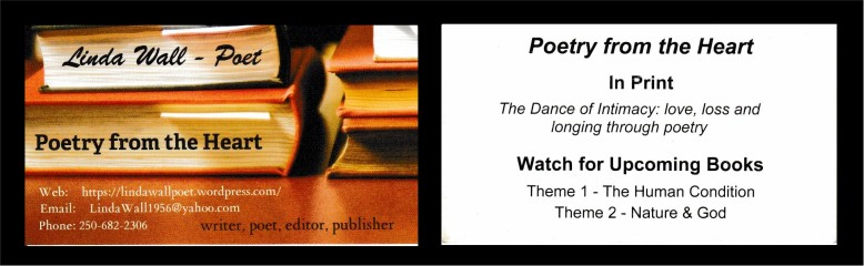 Linda Wall - Poet
