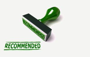 Green Recommendation Stamp